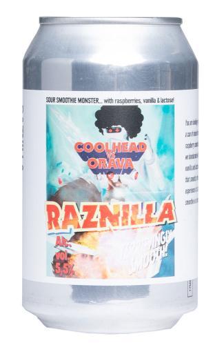 Cool Head x Orava Brewing Raznilla