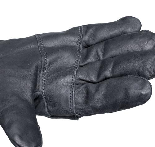 US leather gloves, surplus. Reinforcement on the palm side.