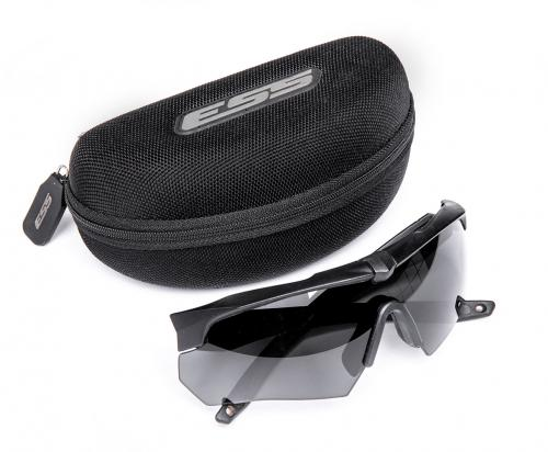ESS Crossbow One ballistic glasses with case, surplus