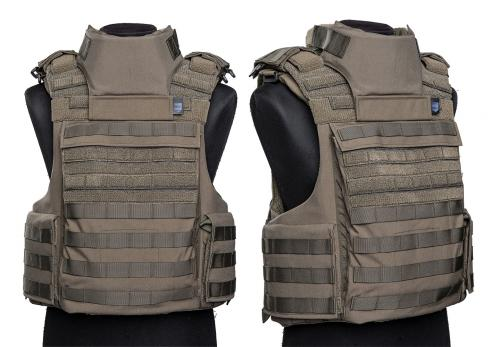 Sioen Tacticum Throat Protection, NIJ IIIA. The vest and Neck and Shoulders protection sold separately.