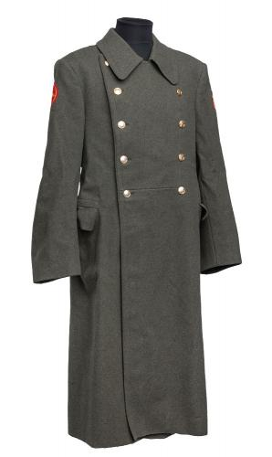 Russian greatcoat, green, surplus