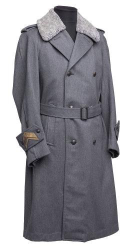 Finnish M65 officer's greatcoat #1