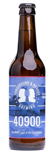 "Hangaround & Nobody Brewing ""40900"" IPL"