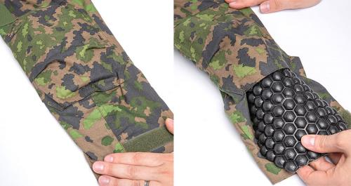 Särmä TST L4 FR Combat shirt . The elbow pockets take in protective inserts (not included).
