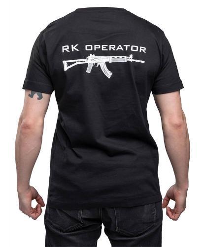 Särmä T-shirt, RK Operator, black