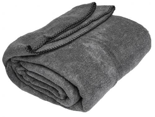 Bulgarian fleece blanket, 200 x 160 cm, surplus