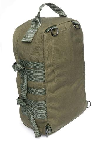 Särmä TST CP15 Combat pack. The main bag without straps can be attached to pretty much anything.