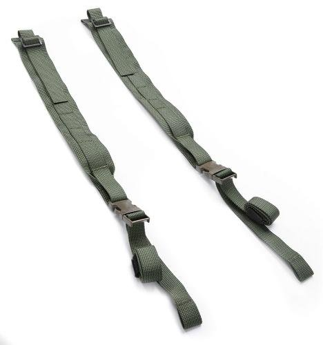 Särmä TST CP15 Combat pack. The flat shoulder straps  are this simple on their own.