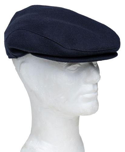 Särmä Worker Flat Cap, wool, dark blue