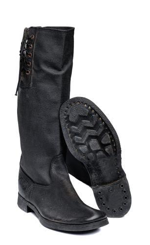 Soviet VDV leather boots #1