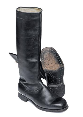"Soviet ""Tom of Finland"" leather boots"