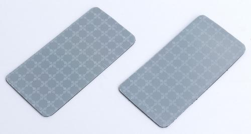 Police Prismatic reflector patch, 50 x 100 mm, 2 pcs.