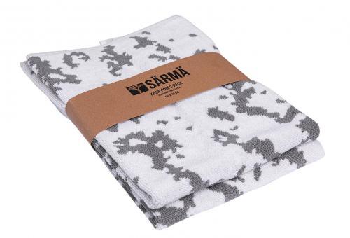 Särmä Hand Towel 2-pack, M05 Snow Camo