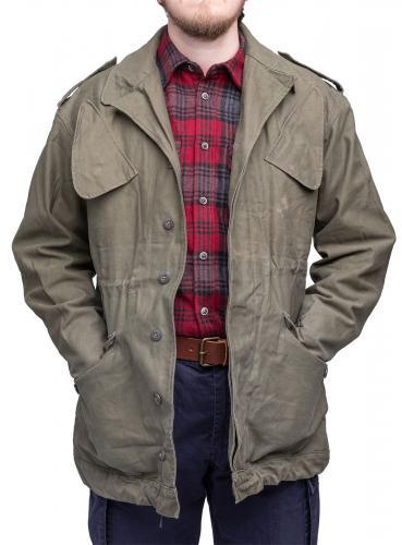 Dutch Field Jacket, Olive Green, surplus