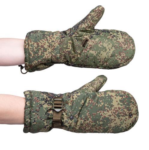 Russian combat mittens, Digiflora, surplus