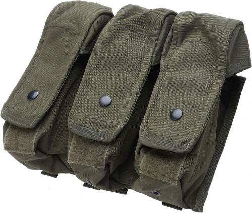 Blackhawk AK/M4 Triple Mag Pouch, green, surplus