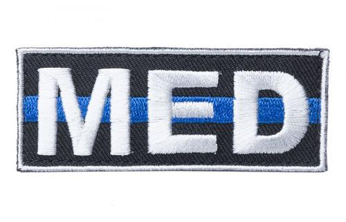 Kaaos Gear MED Thin Blue Line morale patch