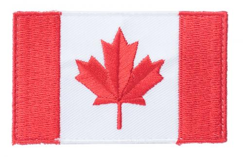 Särmä TST Canadian flag patch, 77 x 47 mm