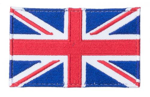 Särmä TST British flag patch, 77 x 47 mm