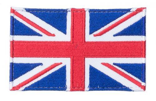 Särmä TST British flag patch, 77 x 47 mm