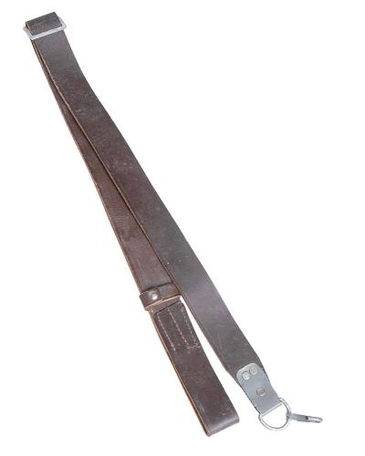 Soviet AK-47 sling, leather, surplus