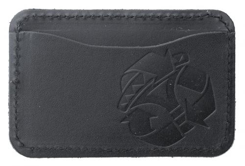 Jämä Card Wallet, Leather. Black