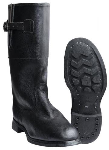 Russian leather boots #1