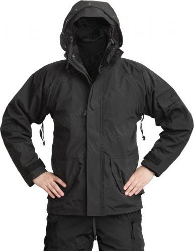 Mil-Tec ECWCS jacket with detachable fleece liner, black