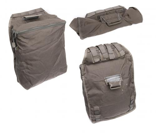 Swedish SVS 12 Combat Vest With Pouches, Green, surplus. Dump pouch. Two of these are included, Santa Claus would envy this capacity!