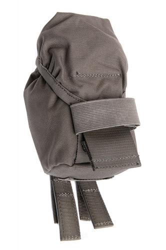 Swedish SVS 12 Combat Vest With Pouches, Green, surplus. Three grenade pouches are included.
