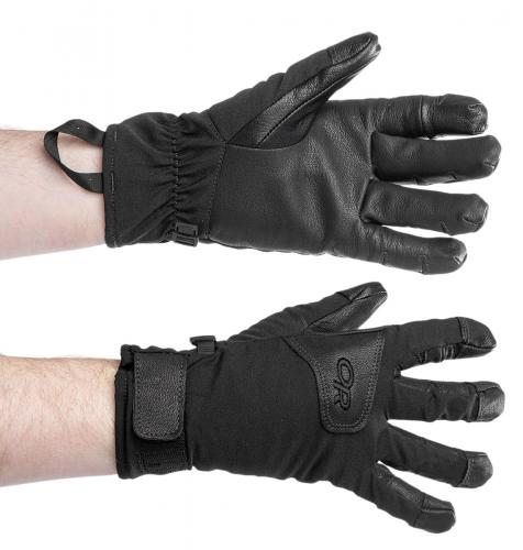 Outdoor Research Stormfighter Sensor Gloves, black, surplus