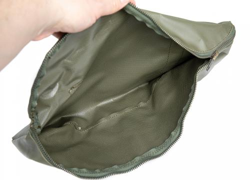 French Rubberized Pouch, Surplus. Keep it simple - no dividers whatsoever.