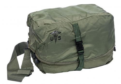 US M3 Combat Lifesaver Bag, Olive Drab, Surplus