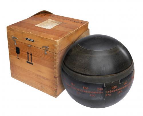 Soviet Gyroscope in Wooden Case, surplus