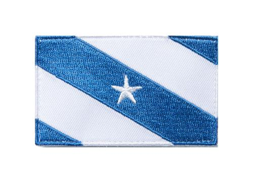 Särmä TST Finnish Star Flag Patch, 77 x 47 mm