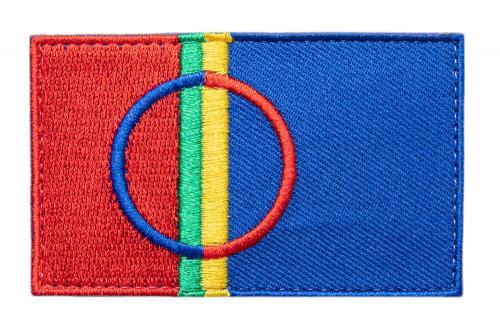 Särmä TST Sami Flag Patch, 77 x 47 mm