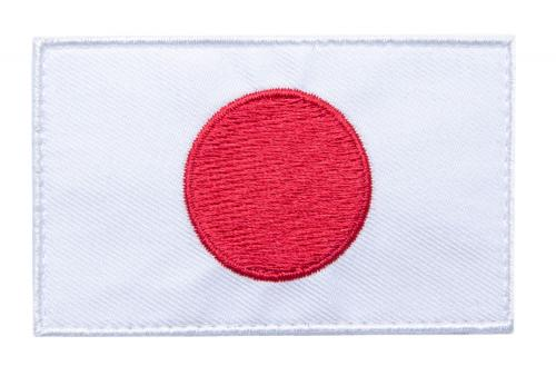 Särmä TST Japanese Flag Patch, 77 x 47 mm