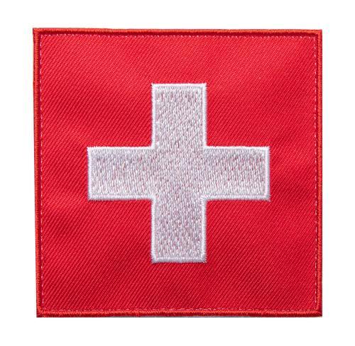 Särmä TST Swiss Flag Patch, 77 x 77 mm