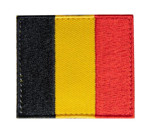 Särmä TST Belgian Flag Patch, 54 x 47 mm
