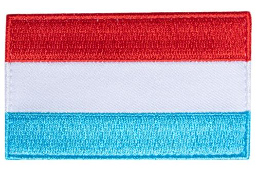 Särmä TST Luxembourgish Flag Patch, 77 x 47 mm