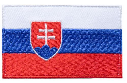 Särmä TST Slovakian Flag Patch, 77 x 47 mm