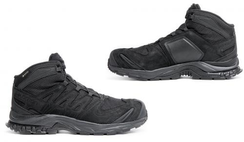 Salomon XA Forces MID GTX EN, Black. Reinforcements on the outside and instep