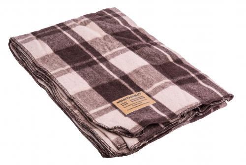 "Mountainhill Blanket, ""Rye Pudding With Milk"" Tartan"