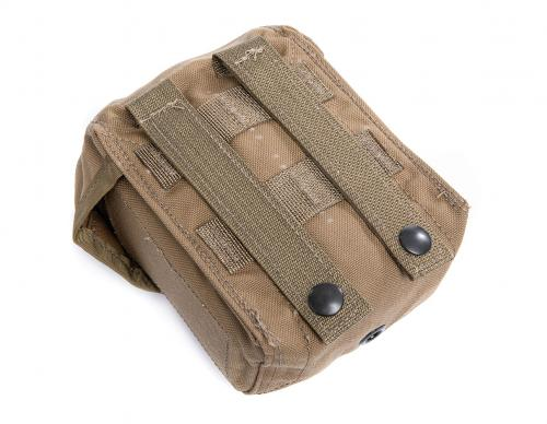 US MOLLE IFAK pouch / 100 Round Utility Pouch, Coyote Brown, surplus.