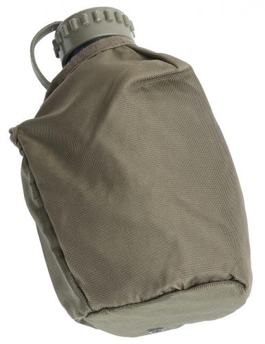Austrian Canteen with Pouch, Transparent, Surplus