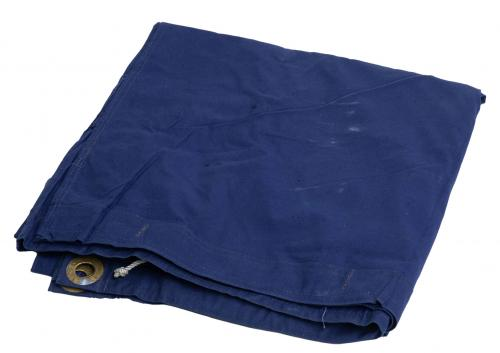 Romanian Plash-palatka Rain Cape/Shelter Half, Blue, Surplus