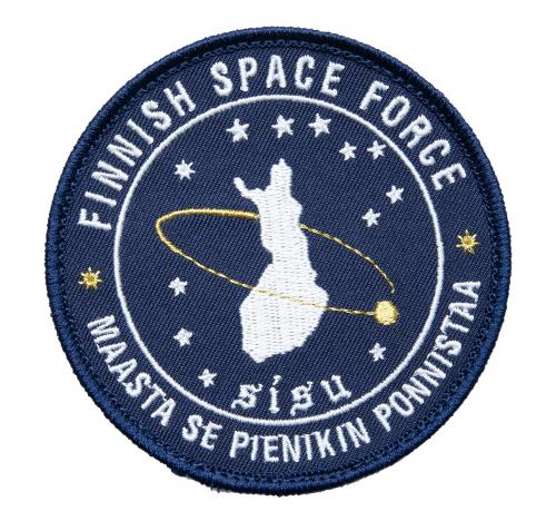 Särmä Finnish Space Force Morale Patch