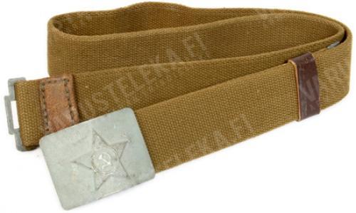 Soviet service belt, canvas, surplus