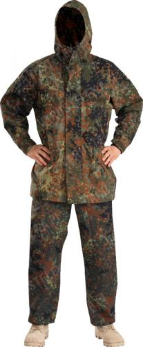 BW Gore-Tex trousers, Flecktarn, surplus.