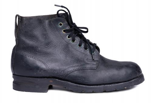 Swedish Ankle Boots, General Model, Surplus. Some have skiing groove on the heel, some don't.